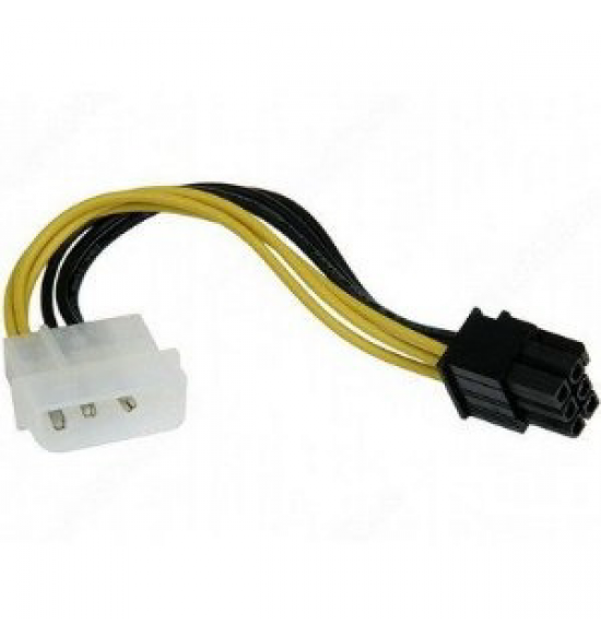 Delock Power Cable for PCI Express Card 6pin - 15cm